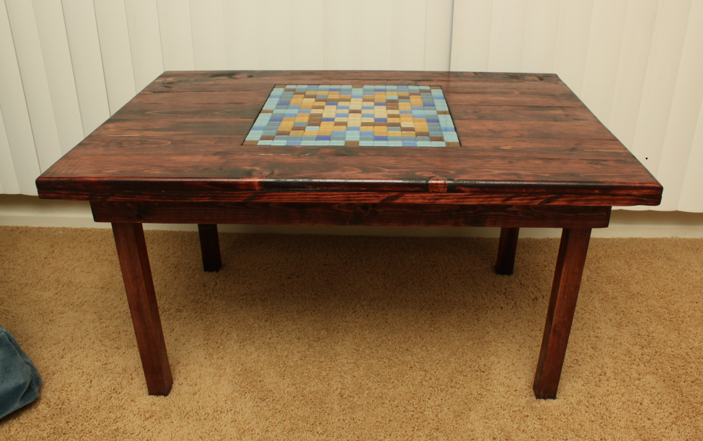 The tile letter game table. - The AeroSwine LTD. blogspace